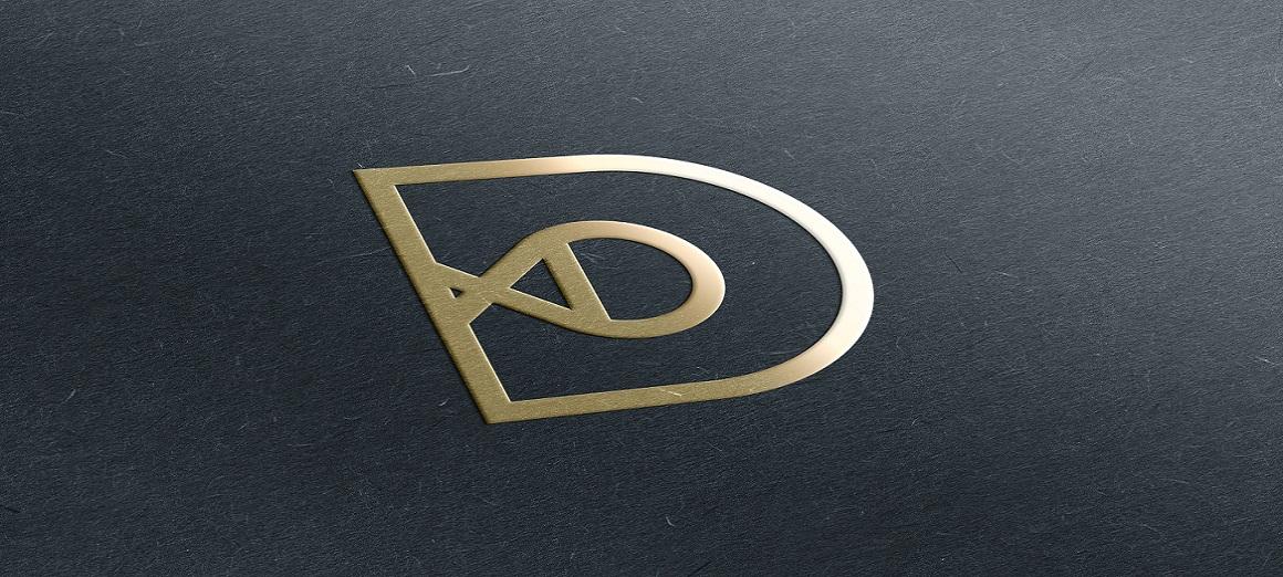 emboss logo gold cards